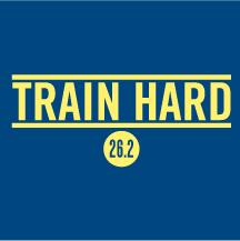 Train Hard logo